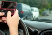 Texting while driving can lead to a fine of $167.